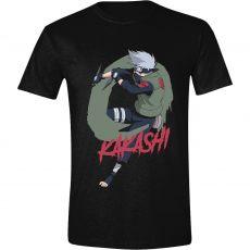 Naruto Shippuden Tričko Kakashi Velikost S
