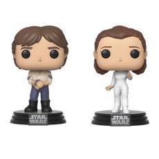 Star Wars POP! Movies vinylová Figures 2-Pack Han & Leila Empire Strikes Back 40th Anniversary 9 cm