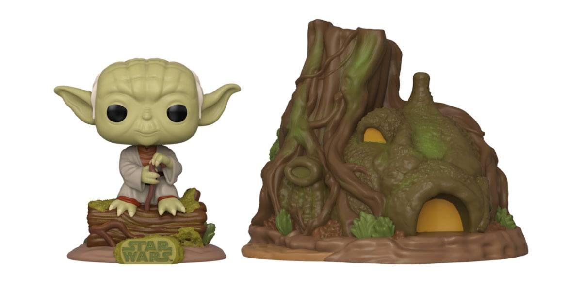 Star Wars POP! Town vinylová Figure Yoda's Hut Empire Strikes Back 40th Anniversary 9 cm Funko