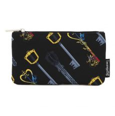 Disney by Loungefly Coin/Cosmetic Bag Kingdom Hearts Keys AOP