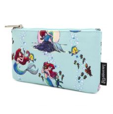 Disney by Loungefly Coin/Cosmetic Bag The Little Mermaid Ariel Scenes AOP