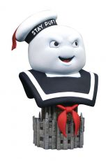 Ghostbusters Legends in 3D Bysta 1/2 Stay Puff 25 cm