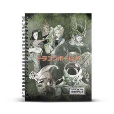 Dragon Ball Poznámkový Blok A4 Evil