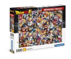Dragon Ball Super Impossible Puzzle Characters