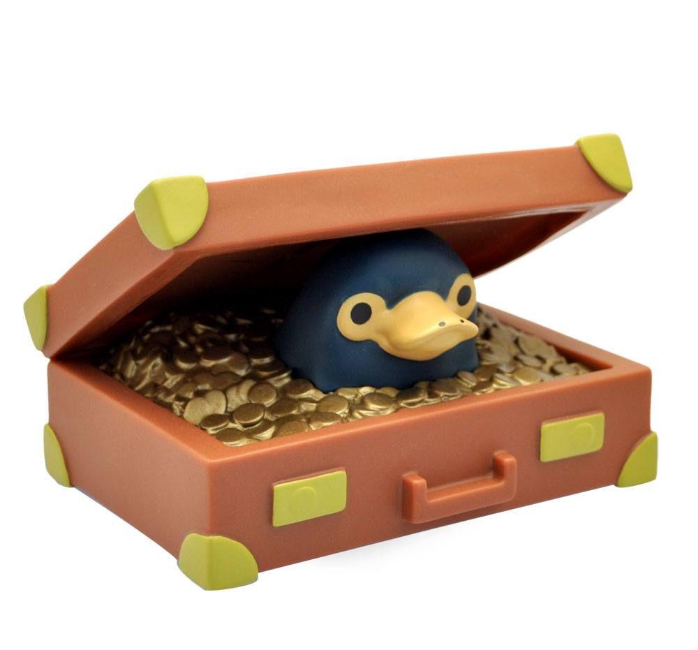 Fantastic Beasts Chibi Pokladnička Niffler Suitcase 16 cm Plastoy