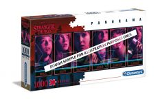Stranger Things Panorama Puzzle Characters