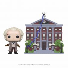 Back to the Future POP! Town vinylová Figure Doc w/Clock Tower 9 cm