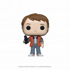 Back to the Future POP! vinylová Figure Marty in Puffy Vest 9 cm