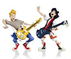 Bill & Ted's Excellent Adventure Toony Classics Akční Figure 2-Pack Bill & Ted 15 cm
