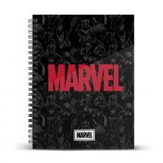 Marvel Poznámkový Blok A4 Marvel Logo