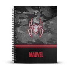 Marvel Poznámkový Blok A4 Spider-Man Dark