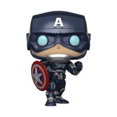 Marvel's Avengers (2020 video game) POP! Marvel vinylová Figure Captain America 9 cm