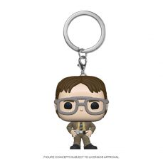 The Office US Pocket POP! vinylová Keychain Dwight Schrute 4 cm