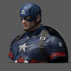 Avengers Endgame Coin Pokladnička Captain America 20 cm