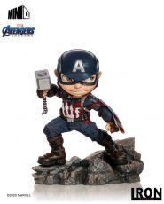 Avengers Endgame Mini Co. PVC Figure Captain America 15 cm