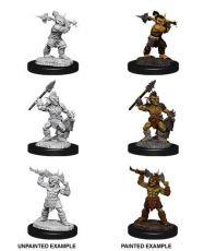 D&D Nolzur's Marvelous Miniatures Unpainted Miniatures Goblins & Goblin Boss Case (6)