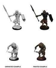 D&D Nolzur's Marvelous Miniatures Unpainted Miniatures Gnoll & Gnoll Flesh Gnawer Case (6)