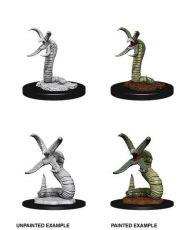 D&D Nolzur's Marvelous Miniatures Unpainted Miniatures Grick & Grick Alpha Case (6)