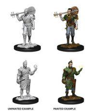 D&D Nolzur's Marvelous Miniatures Unpainted Miniatures Male Half-Elf Bard Case (6)