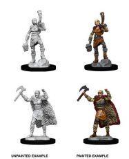 D&D Nolzur's Marvelous Miniatures Unpainted Miniatures Female Human Barbarian Case (6)