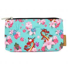Disney by Loungefly Coin/Cosmetic Bag Mulan Mushu & Crickie