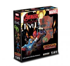 Marvel HeroClix Battlegrounds: Avengers vs Masters of Evil Anglická Verze