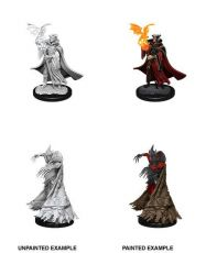 Pathfinder Battles Deep Cuts Unpainted Miniatures Cultist & Devil Case (6)