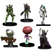Starfinder Battles pre-painted Miniatures 6-Pack Starter Pack: Monster Pack