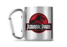 Jurassic Park Carabiner Hrnek Logo