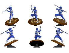 Mighty Morphin Power Rangers PVC Soška Blue Ranger 23 cm
