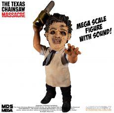 Texas Chainsaw Massacre Mega Scale Akční Figure with Sound Feature Leatherface 38 cm