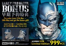 Batman Hush Soška 1/3 Batman Batcave Deluxe Bonus Verze 88 cm