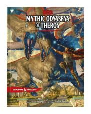 Dungeons & Dragons RPG Adventure Mythic Odysseys of Theros Anglická