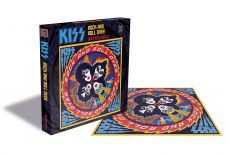 Kiss Puzzle Rock and Roll Over