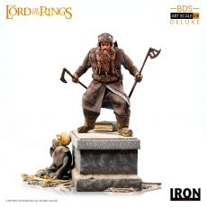 Lord Of The Rings Deluxe BDS Art Scale Soška 1/10 Gimli 21 cm
