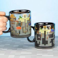 Minecraft Heat Měnící Hrnek