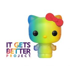 Pride 2020 Hello Kitty POP! Sanrio vinylová Figure Hello Kitty (RNBW) 9 cm