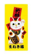 Ukiyo-e Ručník Japop Maneki Neko 50 x 100 cm