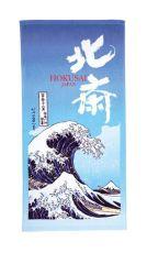 Ukiyo-e Ručník The Great Wave of Kanagawa 70 x 140 cm