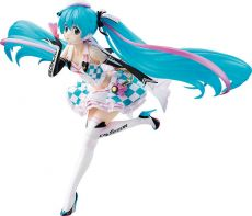 Hatsune Miku GT Project Soška 1/7 Racing Miku 2019 Side Key Visual Ver. 21 cm