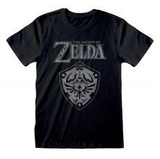 Legend Of Zelda Tričko Distressed Shield  Velikost XL