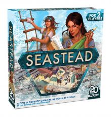 Seastead Board Game Anglická Verze