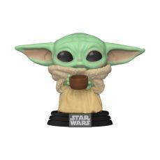 The Mandalorian POP! Star Wars vinylová Figure The Child w/ Cup 9 cm