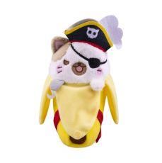 Bananya Plyšák Figure Pirate Bananya 18 cm
