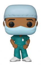 Front Line Worker POP! Heroes vinylová Figure Male #2 9 cm