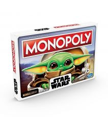 Star Wars The Mandalorian Board Game Monopoly The Child Německá Verze