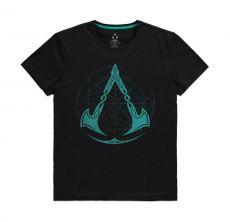 Assassins Creed Tričko Crest Grid Velikost M