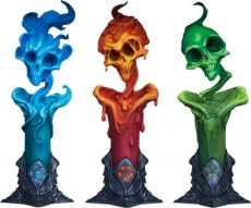 Court of the Dead Court Soška 3-Pack The Lighter Side of Darkness: Faction Candle 18 cm