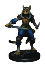 D&D Icons of the Realms Premium Figures: Female Tabaxi Rogue Case (6)