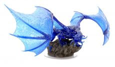 D&D Icons of the Realms Premium Miniature pre-painted Sapphire Dragon